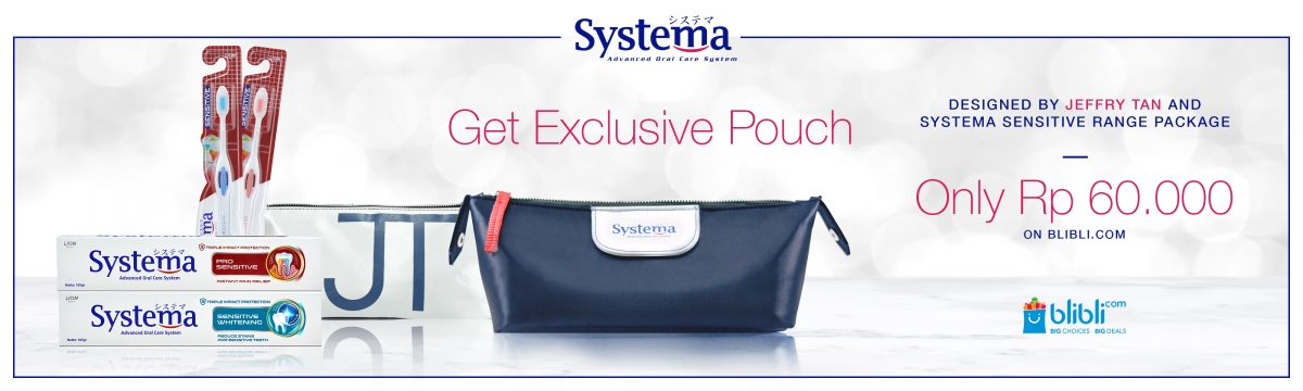 [SYSTEMA] Promo Pouch JT